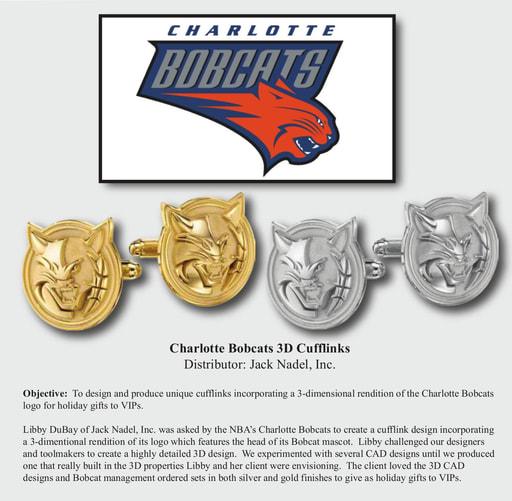 Charlotte Bobcats Cufflinks Case Study