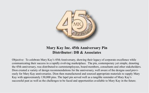 Mary Kay 45th Anniversary Case Study