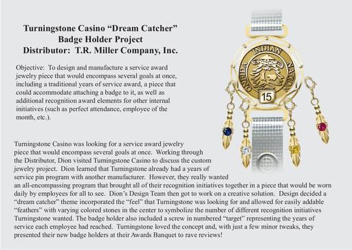 Turningstone Badge Holder Project